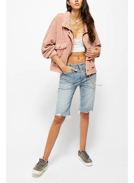 Free People Rebel Rouser Cut Off Shorts