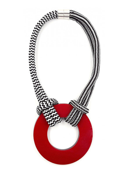 Christina Brampti ChrisB Donut Necklace