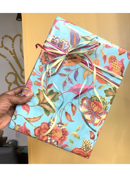 Squash Blossom Gift Wrapping