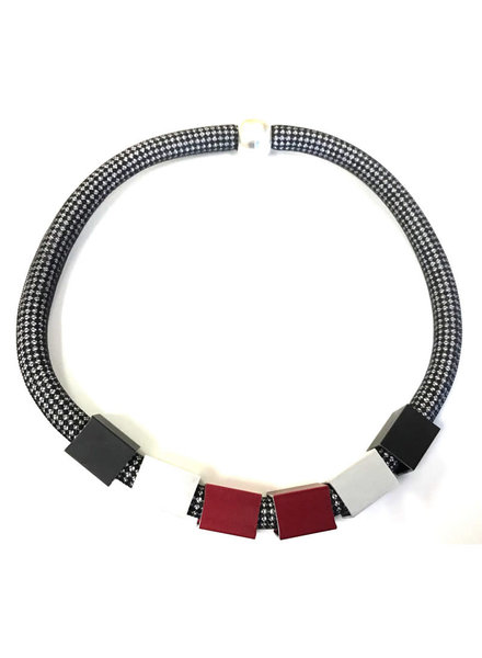 Christina Brampti ChrisB 1989 Nylon Necklace