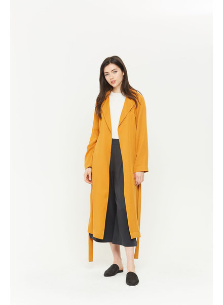 Michelle by Commune Michelle Rosa Trench Duster