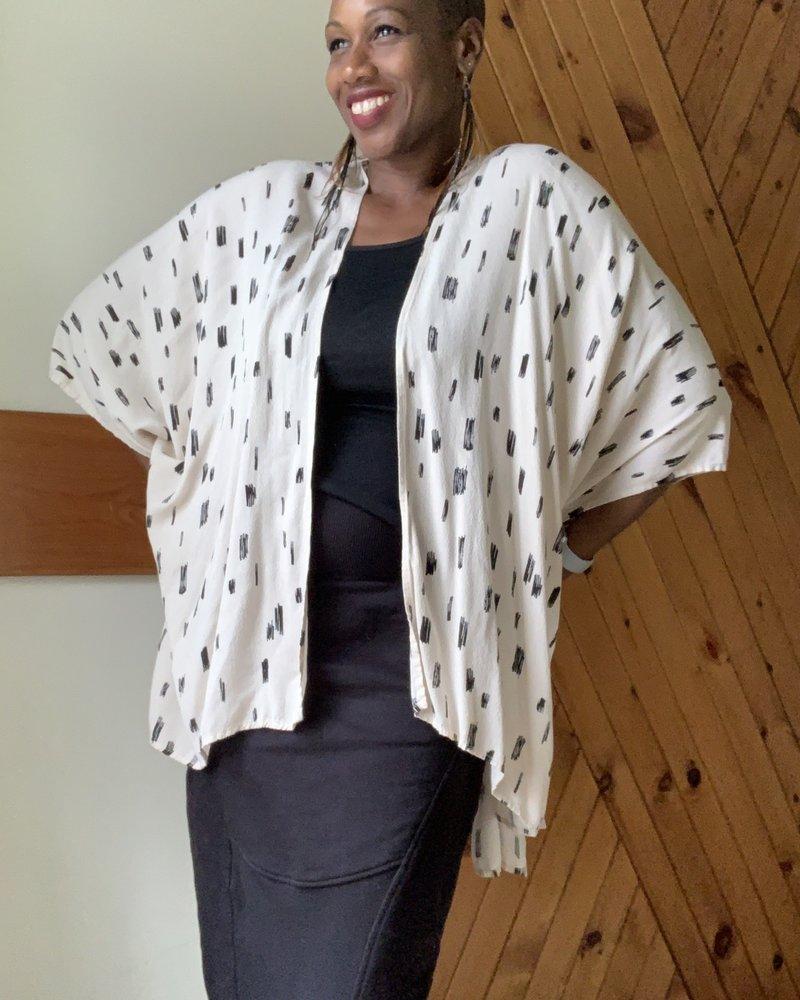 KLD KLD Print Kimono
