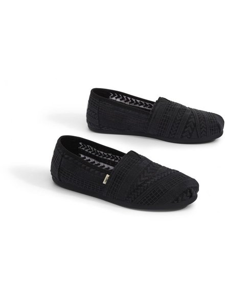 TOMS Black Arrow Embroidered