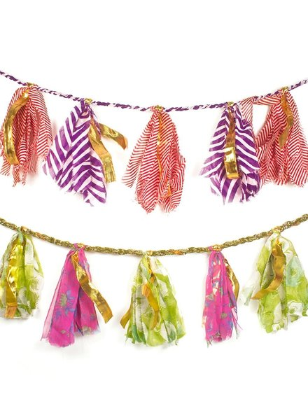 Matr Boomie Sari Party Tassel Garland