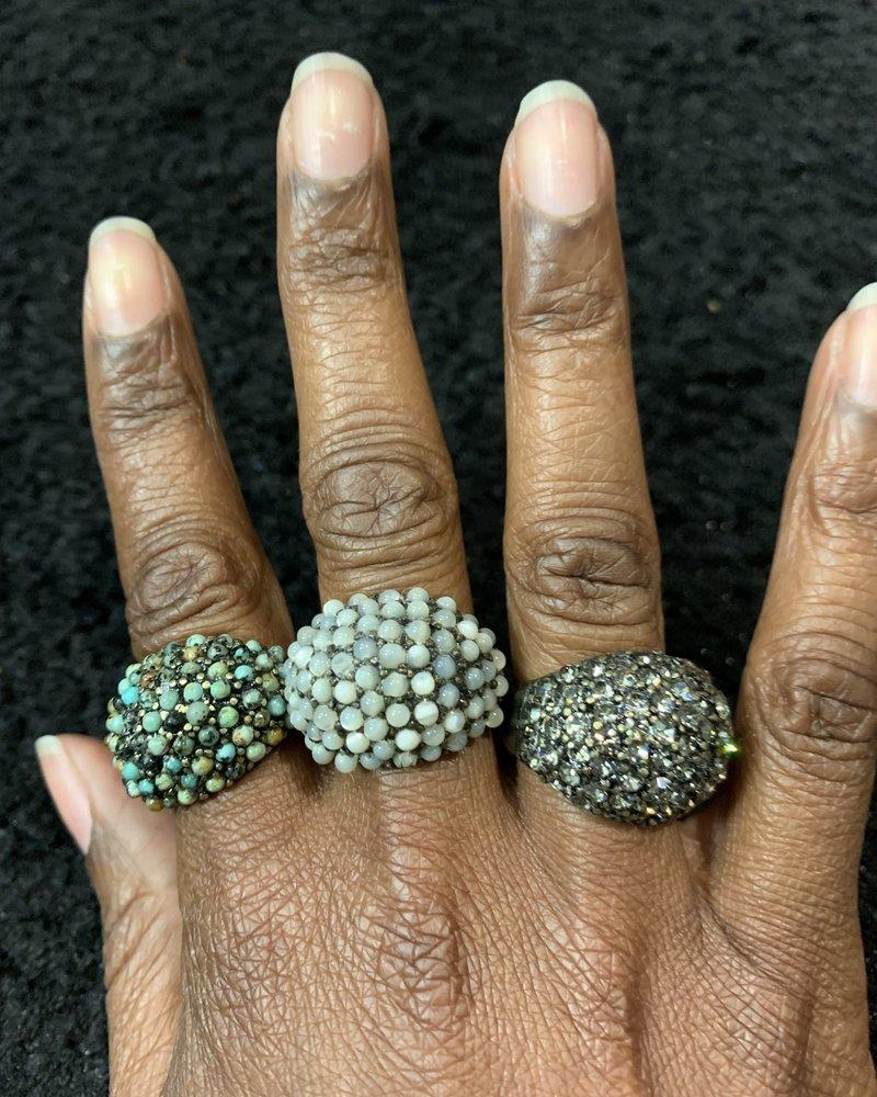 Rebel Designs RebelDesign  Stone Cluster R64 Ring