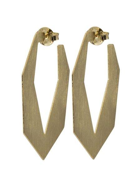 Sheila Fajl Hoops Atiq Earrings