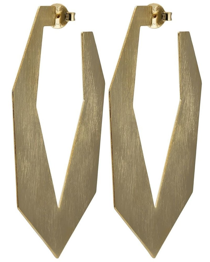 Sheila Fajl Hoops Sheila Fajl Atiq Earrings