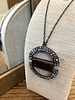 Rebel Designs Rebel Designs Double Semi Circle Necklace 1819