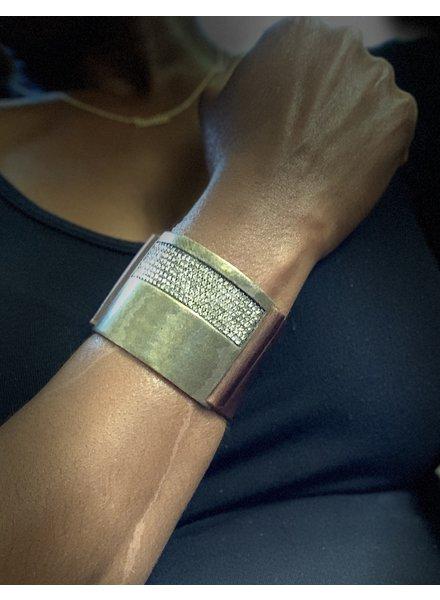 Rebel Designs Top Bling Bar Bracelet