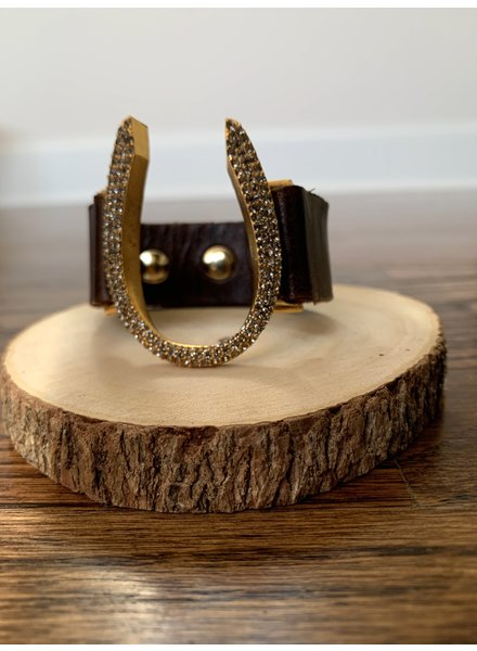 Rebel Designs 5095 Horseshoe Bracelet