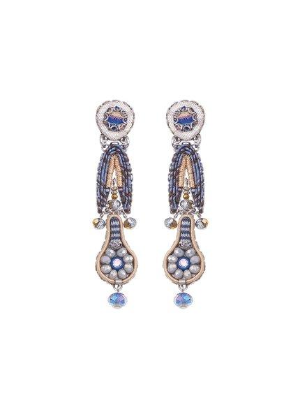 Ayala Bar Sapphire Waves Earrings 326