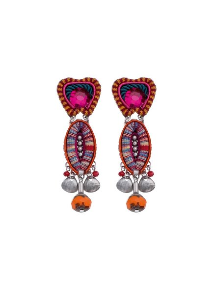 Ayala Bar Crimson Voyage 007 Earrings