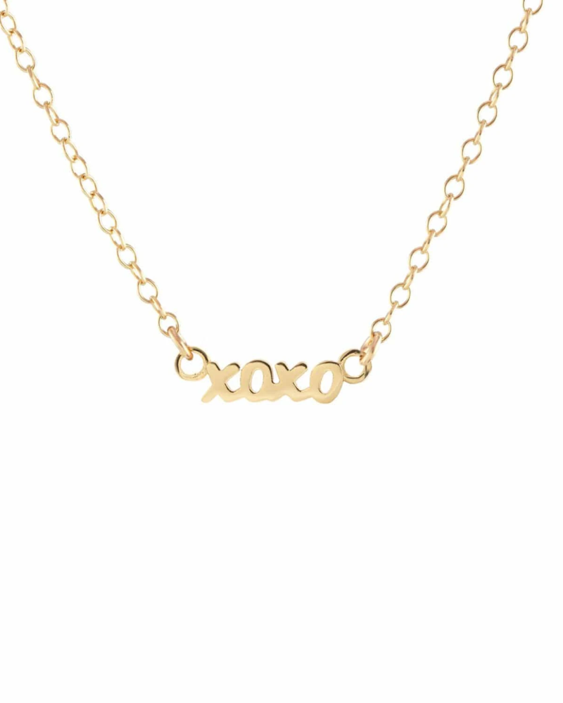 Kris Nations Kris Nations XOXO Script Necklace