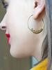 Kris Nations Kris Nations Badass Hoop Earrings