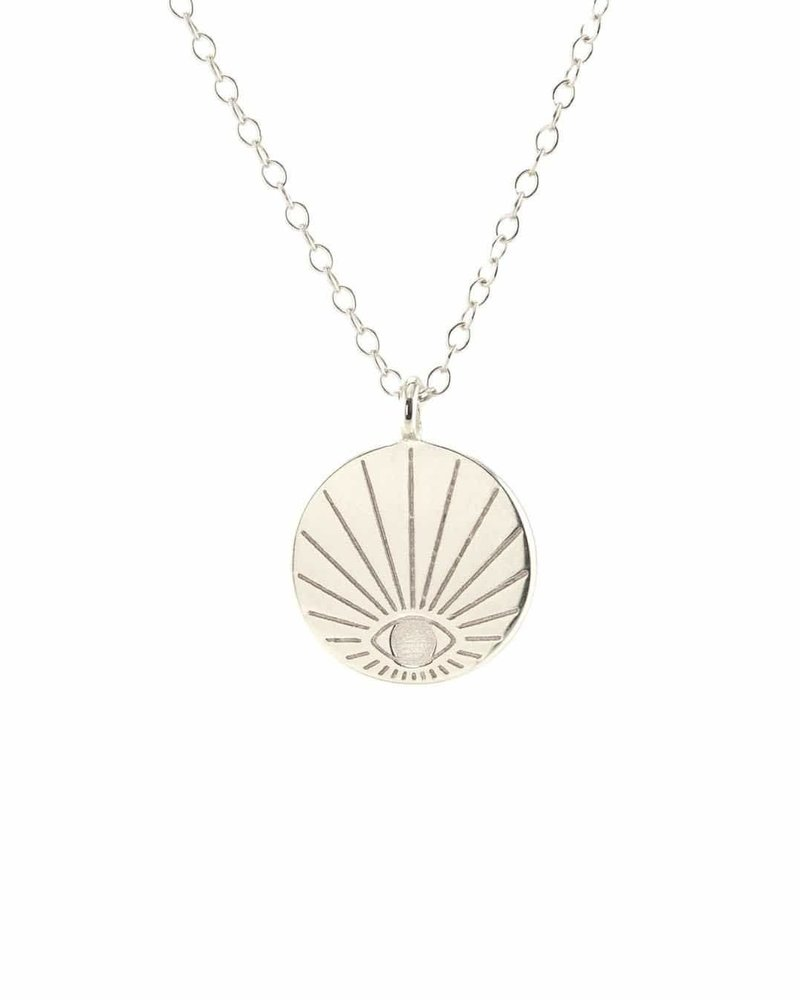 Kris Nations Kris Nations Eye Disc Necklace