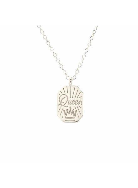 Kris Nations Queen Necklace