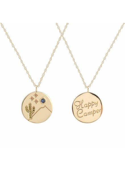 Kris Nations Happy Camper Necklace