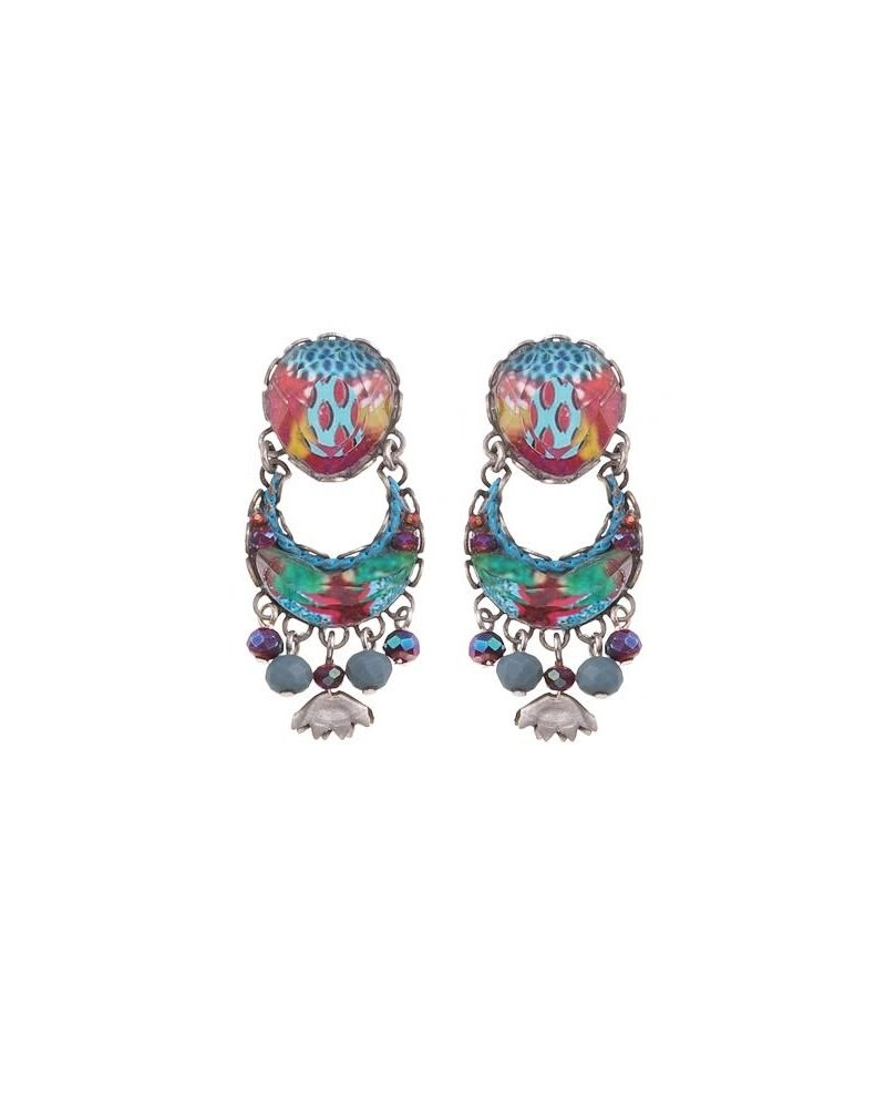 Ayala Bar Ayla Bar Blue Castle Earrings