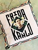 Karma Living Frida Kahlo Name Ivory Pillow
