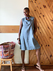 Just Jill Just Jill Bias Collar Tunic Dress