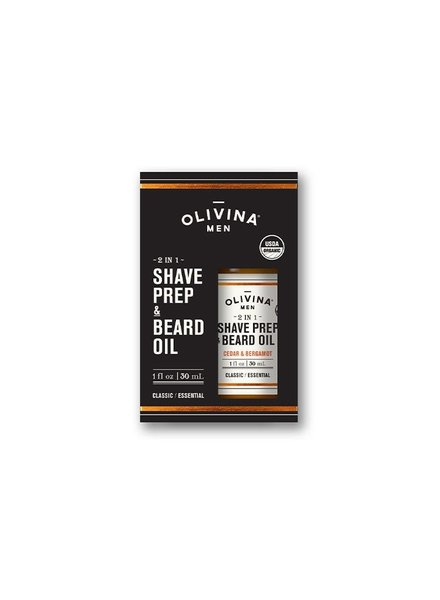 Olivina Beard Oil and Prep