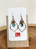 Anna Balkan Jewelry Anna Balkan Petal Gem Earrings