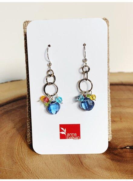 Anna Balkan Jewelry Mini Bubble Small Beads Earrings