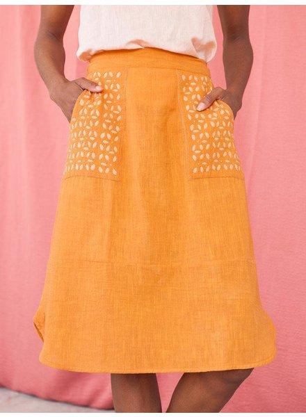 Mata Traders Laser Cut Skirt