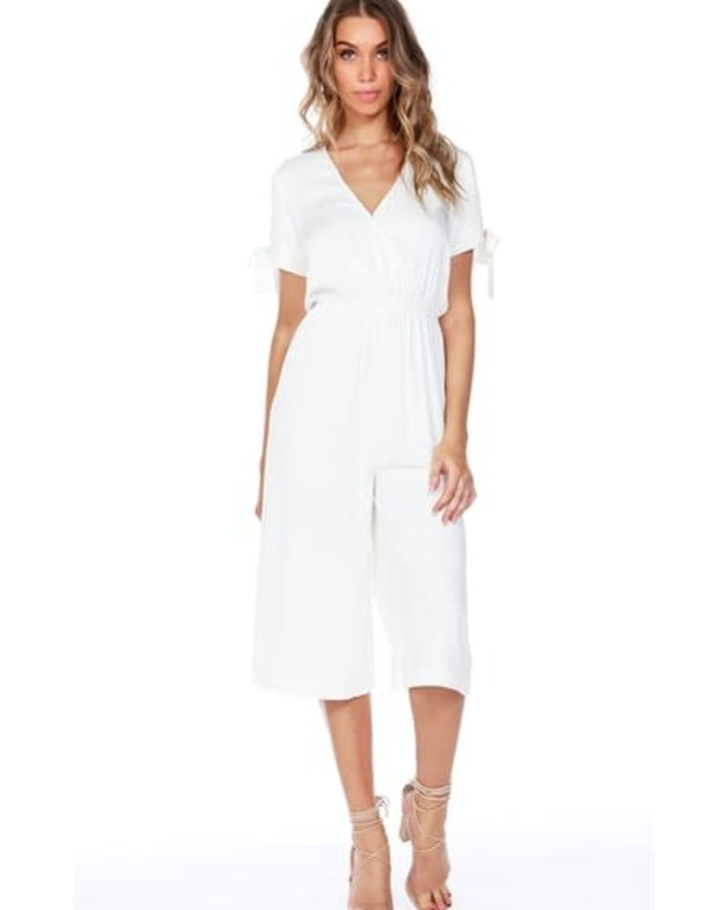 Bobi Bobi Cold Shoulder Jumpsuit