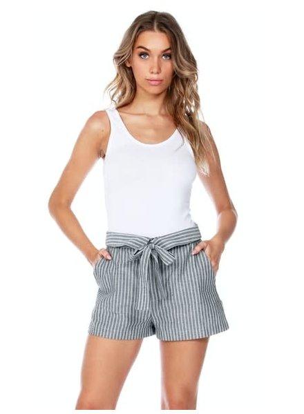 Bobi Tie Waist Shorts