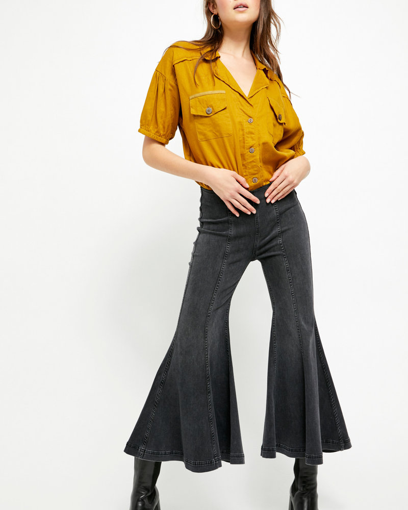 Free People Free People Cha Cha Flare Jeans