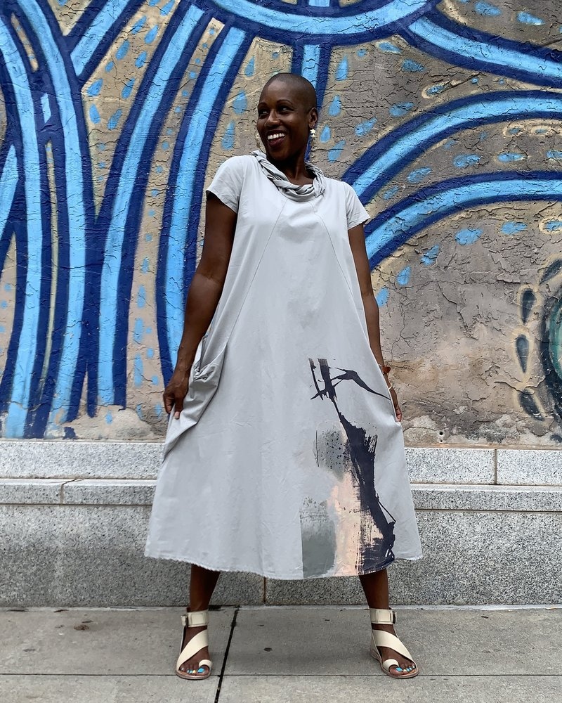 Luukaa Luukaa Print Theresa 520 Dress