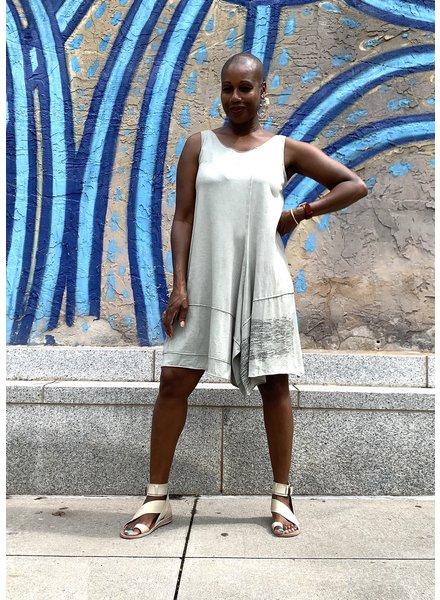 Luukaa Gloria Tunic Print Tank Dress