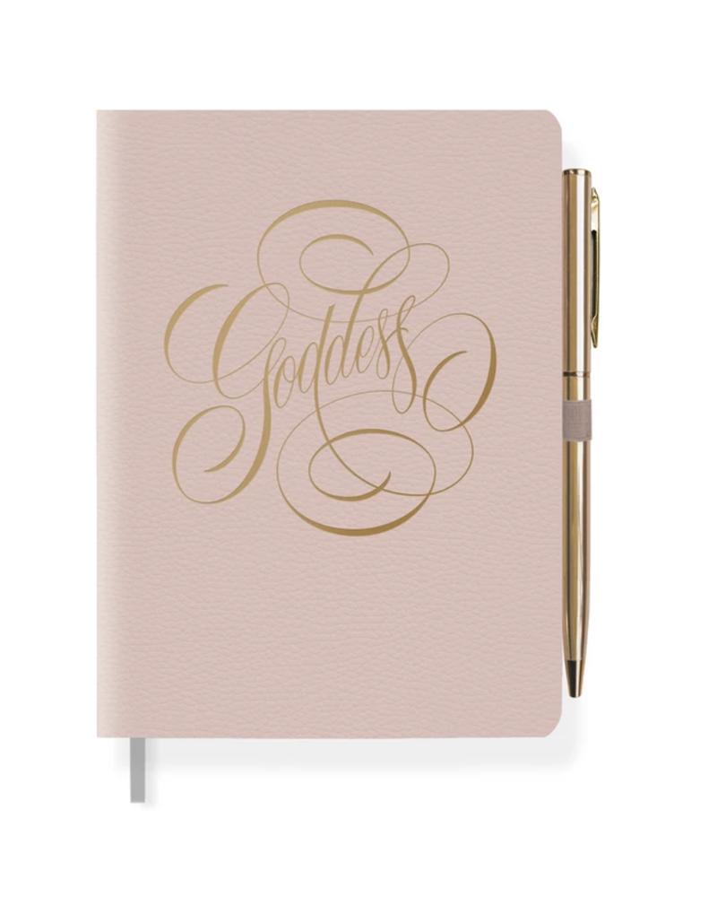 Fringe Goddess Leather Journal Pen Set