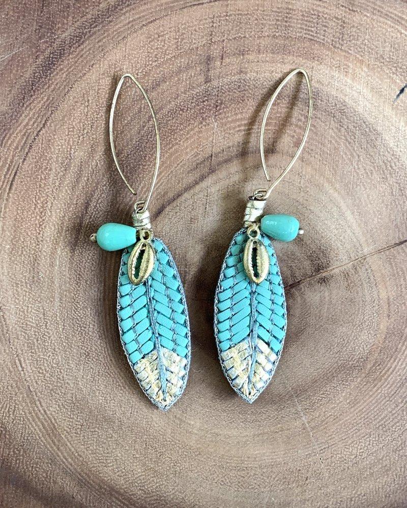 Nahua Osiris Earrings