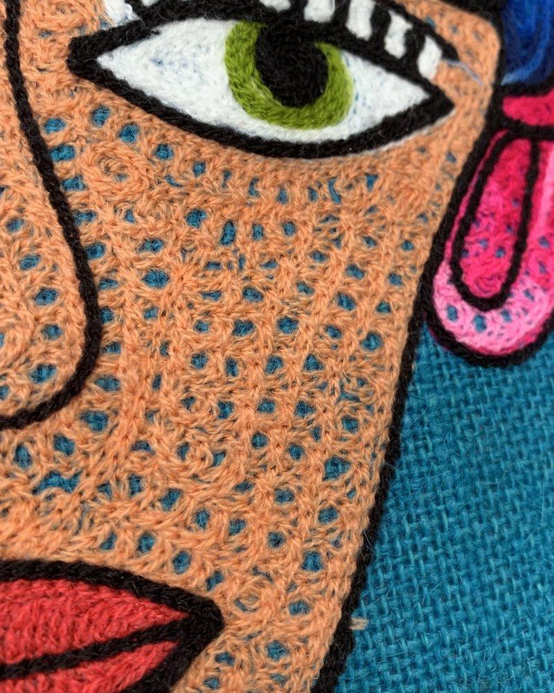 Frida Kahlo 18x18 Pillow