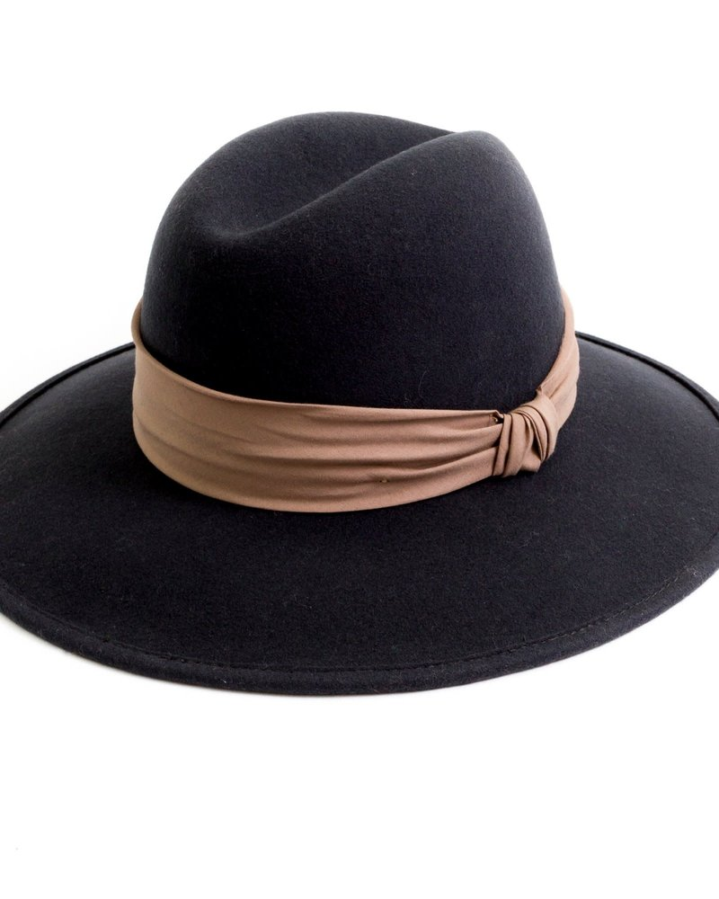San Diego Hat Co San Diego Hat Co. Fedora with Twisted Knot Band