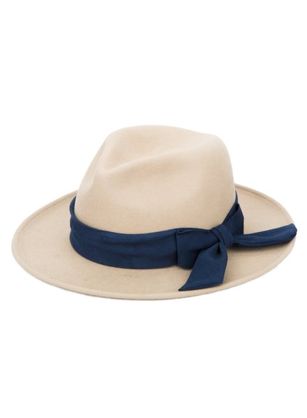 San Diego Hat Co Fedora with Contrast Side Bow