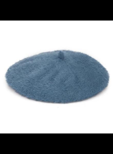 San Diego Hat Co Faux Angora Beret