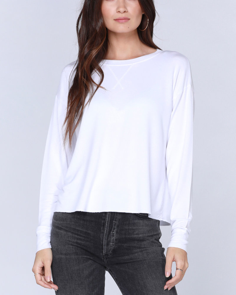 Bobi Bobi Drop Sleeve Crewneck Sweatshirt