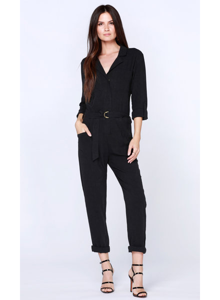 Bobi 3/4 Slv Pocket Jumpsuit