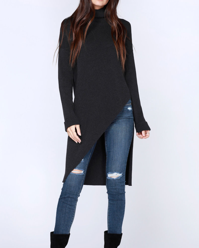 Bobi Bobi Asymmetric Turtleneck Sweater