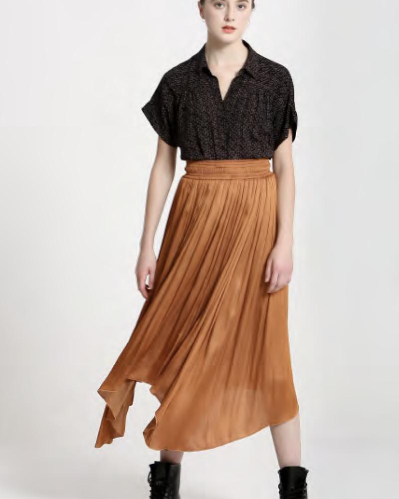 See U Soon See U Soon Airy Midi Skirt
