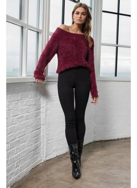 Elan Off Shoulder Sweater
