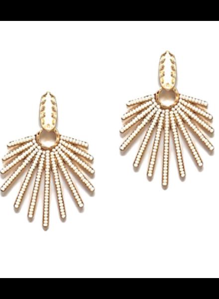 GS Seed Bead Bars Earrings