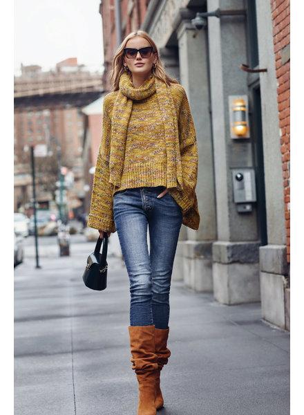 Elan Oversized Marbled Sweater