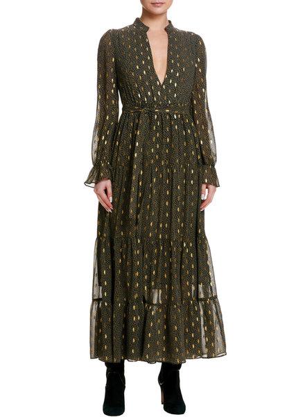 Elan Foil Maxi Dress
