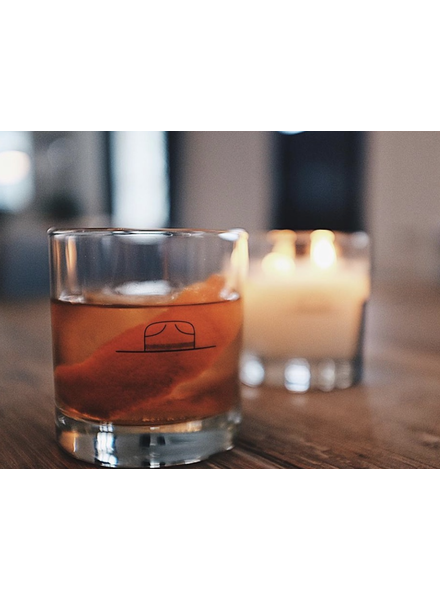 Ranger Station Whiskey Glass Candle
