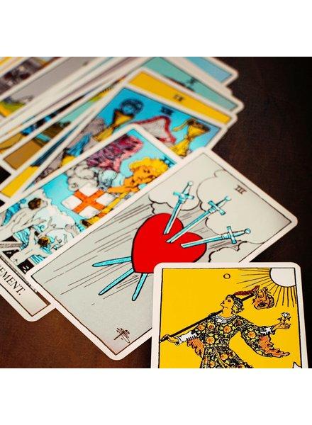 Squash Blossom Tarot Reading Contest