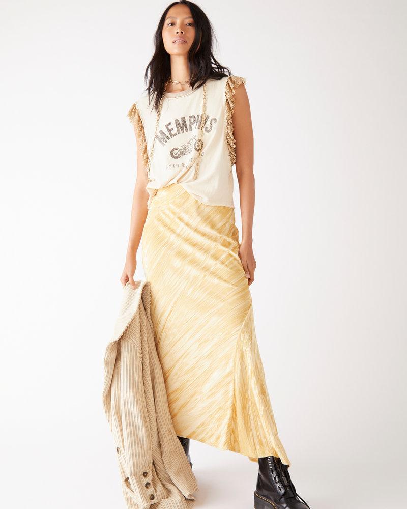 Free People Free People Noa Velvet Slip Skirt